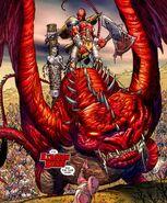 Sakaaran Dragons from Skaar Son of Hulk Vol 1 1 001