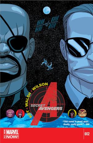 Secret Avengers Vol 3 2