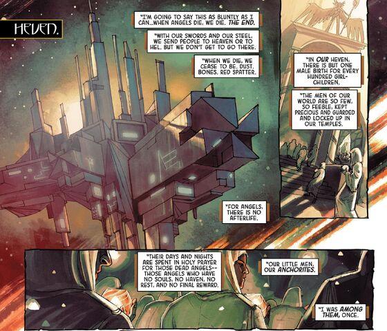 Lucifer Morningstar Dc Comics: Sera (Earth-616) From Angela Asgard's Assassin Vol