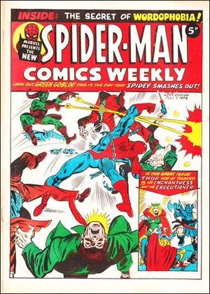 Spider-Man Comics Weekly Vol 1 21