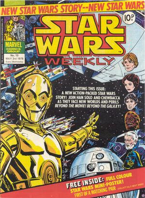 Star Wars Weekly (UK) Vol 1 13