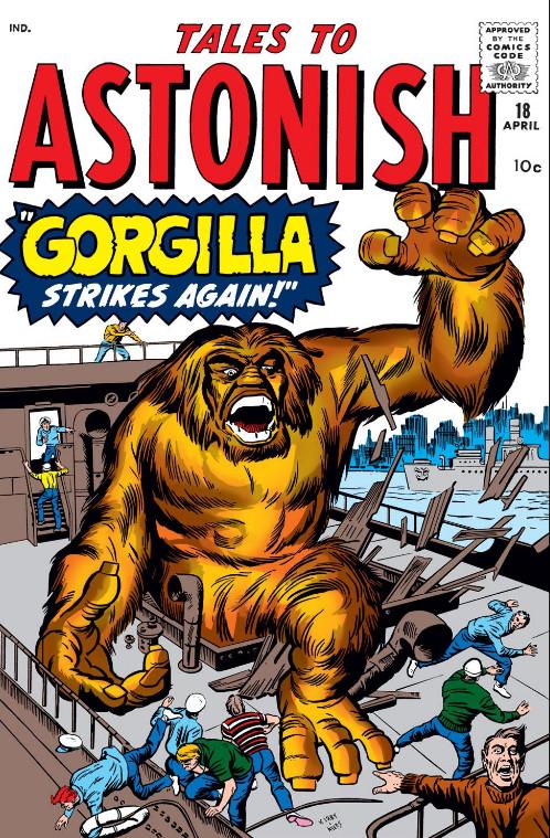 Tales to Astonish Vol 1 18