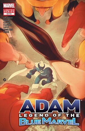 Adam Legend of the Blue Marvel Vol 1 5