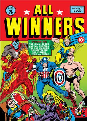 All Winners Comics Vol 1 3