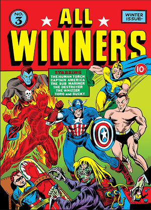 All Winners Comics Vol 1 3