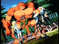Alpha Flight (Earth-92131) from X-Men The Animated Series Season 2 5 0001