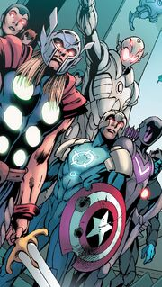Avengers (A.I.) (Earth-14831) from Avengers Ultron Forever Vol 1 1 001
