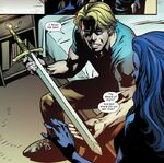 Brian Braddock (Earth-616) with Sword of Might from Excalibur Vol 4 6 001