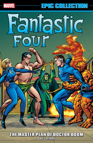 Fantastic Four Epic Collection Vol 1 2