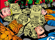 Fantastic Four being branwashed in Fantastic Four Vol 1 85