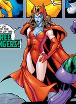 Kree Scarlet Witch (Earth-99315) from Fantastic Four Vol 3 16