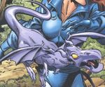 Lockheed (Earth-161) from X-Men Forever Vol 2 1 0001