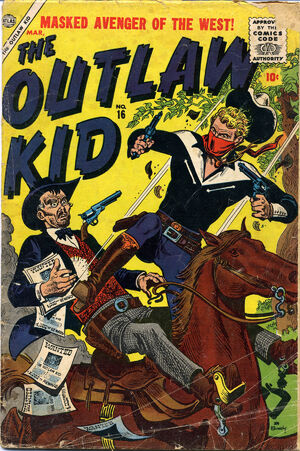 Outlaw Kid Vol 1 16