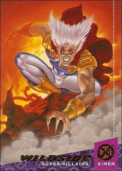 Richard Gill (Earth-616) from 1994 Ultra X-Men (Trading Cards) 0001