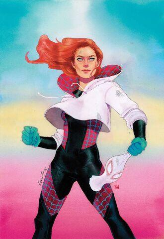 File:Spider-Gwen Vol 2 21 Mary Jane Variant Textless.jpg