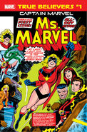 True Believers Captain Marvel - Ms. Marvel Vol 1 1