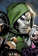 Victor von Doom (Earth-95019) from Marvel Apes Prime Eight Special Vol 1 1 Cover