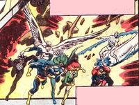 X-Sentinels (Earth-616) from X-Men Vol 1 100