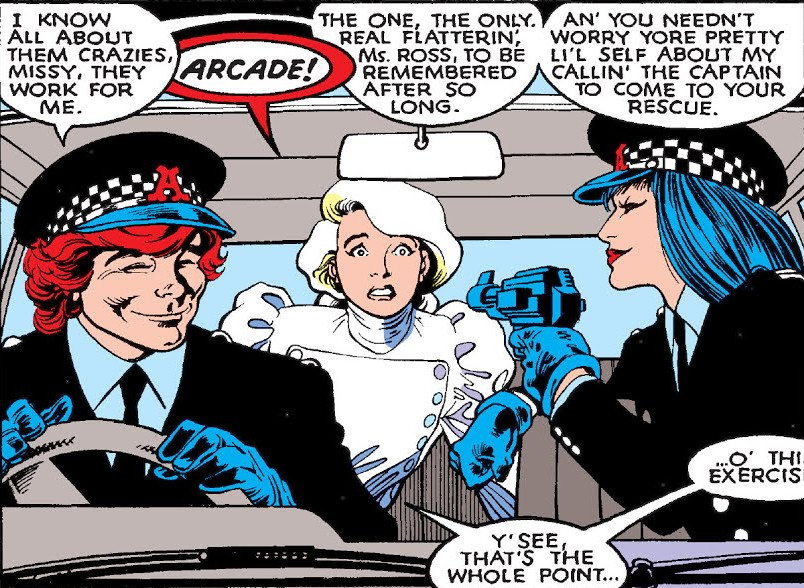 File:Arcade (Earth-616), Courtney Ross (Earth-616), and Miss Locke (Earth-616) from Excalibur Vol 1 4 0001.jpg