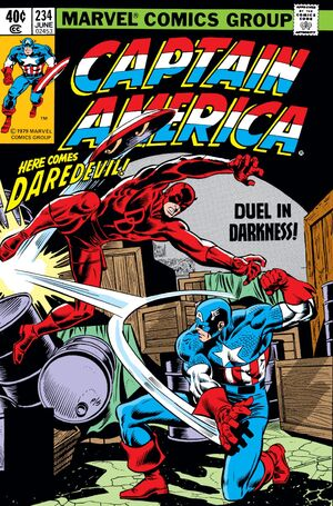 Captain America Vol 1 234