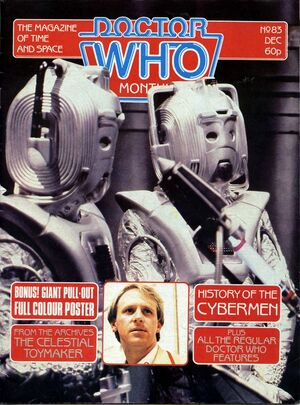 Doctor Who Monthly Vol 1 83