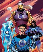 Fantastic Four (Mad Thinker's) (Earth-616) from Marvel 2-In-One Vol 1 8 001