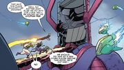 Galactus Mech from All-New Guardians of the Galaxy Vol 1 1 003