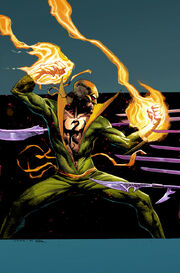 Iron Fist The Living Weapon Vol 1 3 Opeña Variant Textless