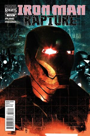 Iron Man The Rapture Vol 1 3