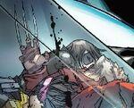 James Howlett (Future) (Earth-TRN664) and Neena Thurman (Earth-TRN664) from Deadpool Kills the Marvel Universe Again Vol 1 3 Camuncoli Variant 001