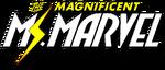 Magnificent Ms. Marvel (2019) logo
