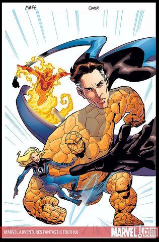 File:Marvel Adventures Fantastic Four Vol 1 30 Textless.jpg