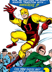 Matthew Murdock (Earth-616) original costume from Daredevil Vol 1 1