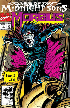 Morbius The Living Vampire Vol 1 1