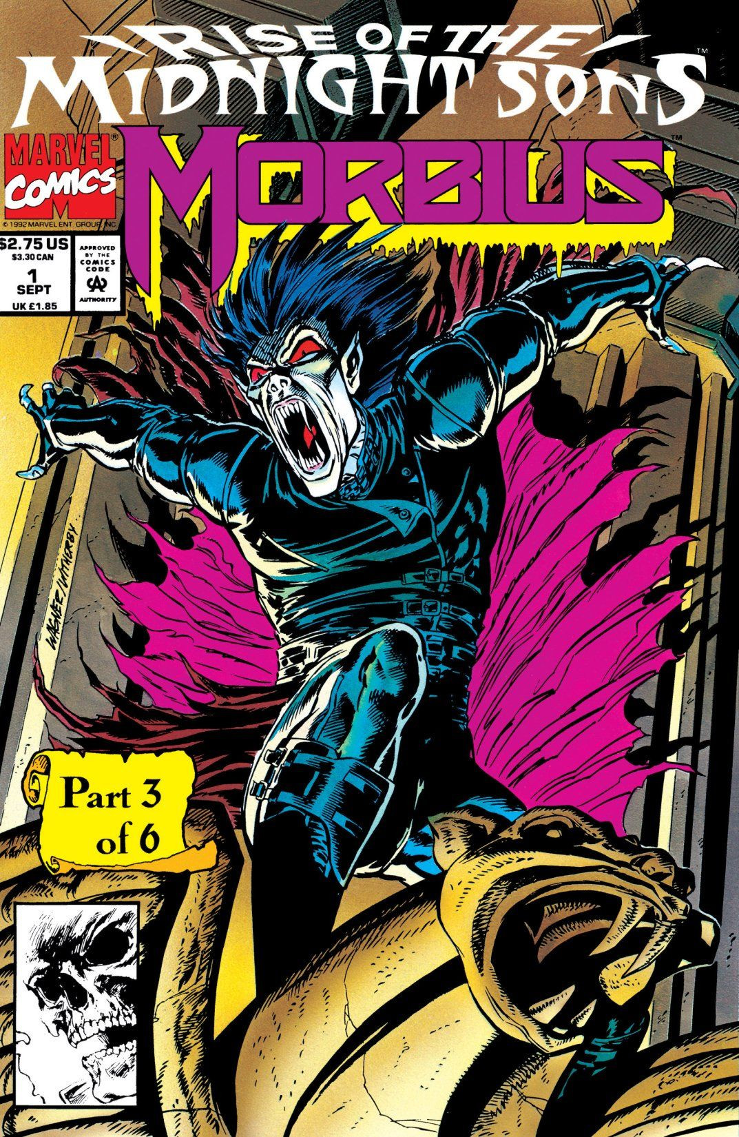 Morbius Vampire >> Morbius: The Living Vampire Vol 1 1 | Marvel Database
