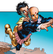 Sentinel (Daria) (Earth-616) and Jubilation Lee (Earth-616) from Generation X Vol 1 31 001
