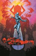 Silver Surfer Vol 8 1 Deadpool Variant Textless