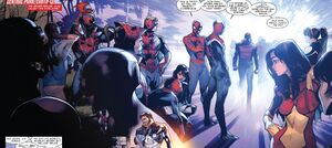 Spider-Army (Multiverse) from Amazing Spider-Man Vol 3 9 001