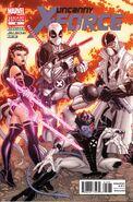 Uncanny X-Force Vol 1 19 Variant Bradshaw