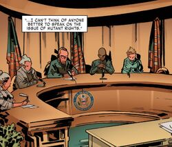 United States House of Representatives (Earth-616) from X-Men Gold Vol 2 9 001