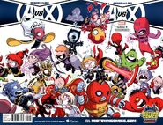 A-Babies vs. X-Babies Vol 1 1 Midtown Comics Wraparound Variant