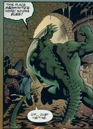 Abominite (Earth-9602) from Doctor Strangefate Vol 1 1 002