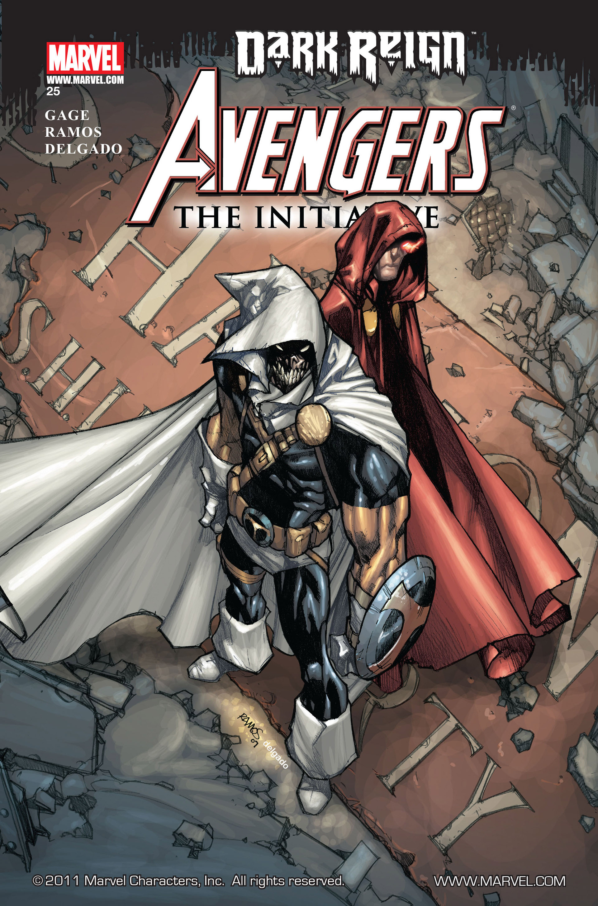 Avengers The Initiative Vol 1 25