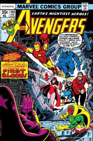 Avengers Vol 1 168