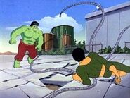 Bruce Banner (Earth-8107) and Otto Octavius (Earth-8107) from Incredible Hulk (1982 animated series) Season 1 1 001