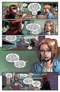 Carlie Cooper (Earth-616) and Mary Jane Watson (Earth-616) from Amazing Spider-Man Vol 5 9 0001