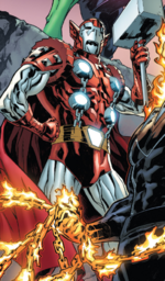 Dargo Stark (Warp World) (Earth-616) from Secret Warps Ghost Panther Annual Vol 1 1 001