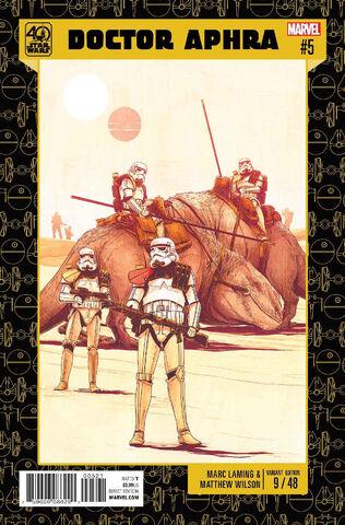 File:Doctor Aphra Vol 1 5 Star Wars 40th Anniversary Variant.jpg