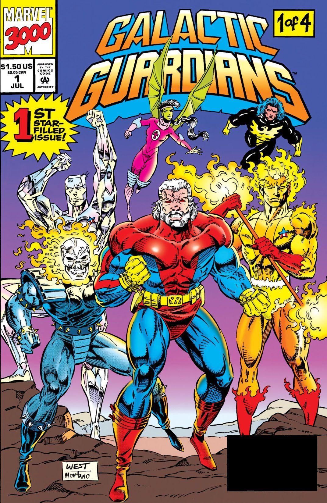 Galactic Guardians Vol 1 1 Marvel Database Fandom