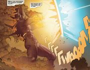Galan (Earth-14412) vs. Thor Odinson (Earth-14412) from Thor God of Thunder Vol 1 21 002